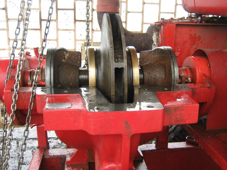 Contrôle roue de pompe