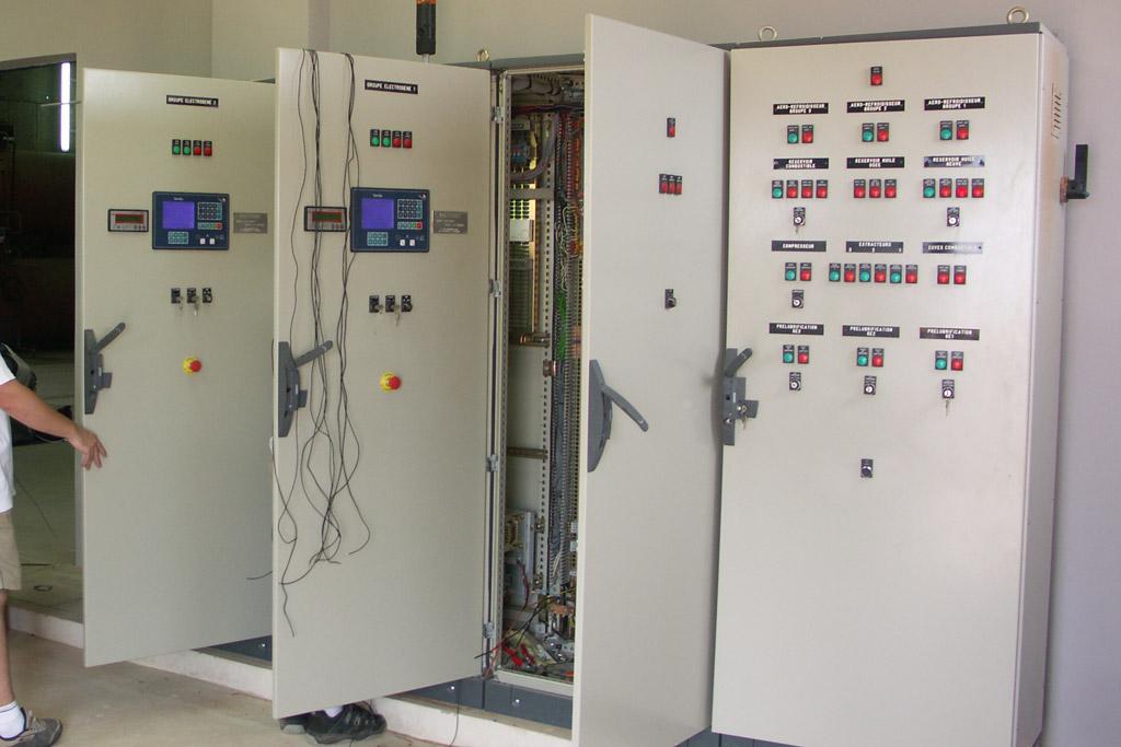 Coffret de commande groupes électrogènes